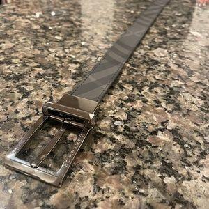 Burberyy Men's Reversible Leather Belt